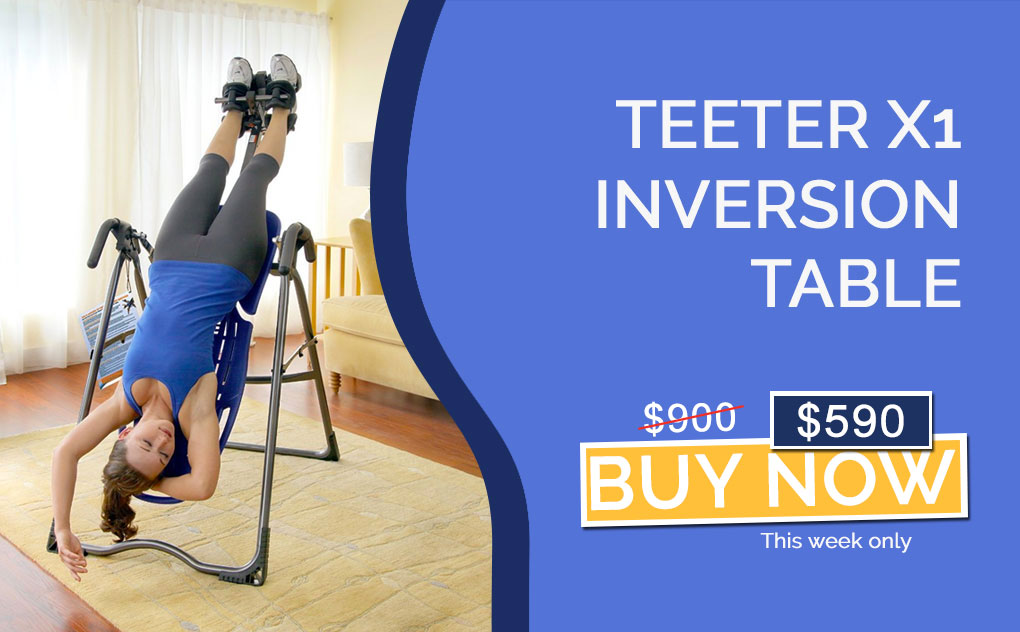 Teeter FitSpine X1 Inversion Table
