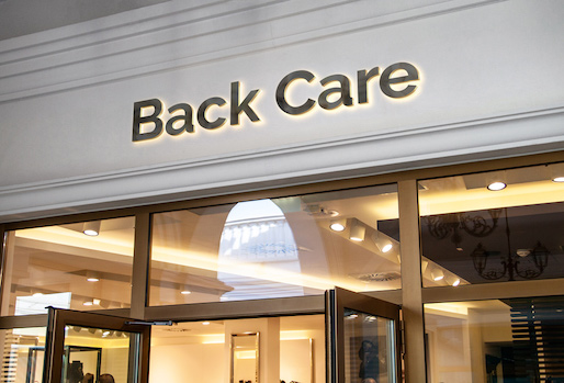 Back pain shop